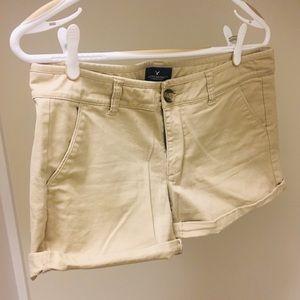 American Eagle midi shorts